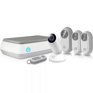 CCTV: SwannOne CCTV Alarm Kit With Wireless Smart Hub 720p HD Indoor Camera Smart Plug Door Window Sensor And Key Fob