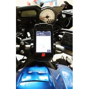 iphone Accessories: Ibike Waterproof Rugged Motorbike Bicycle IPhone 3GS 4 4S Holder Mount Kit Hard Case