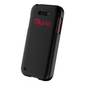 Tablets: Kurio Phone Kids 4 inch Sim Free Smartphone Unlocked Android 4GB Black + Free Hard Case