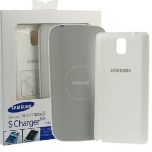 Genuine Samsung Galaxy Note 3 S Charger Kit Wireless Charging Pad Cover White