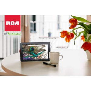 Tablets: VENTURER RCA Viking 10L 10.1 inch HD 16gb Android 6 Tablet Bluetooth HDMI Micro-SD