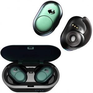 SKULLCANDY Push True Wireless Bluetooth Rechargeable Ear Air Pods Headphones Mic - Psycho Tropical