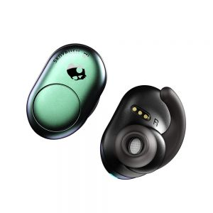 SKULLCANDY Push True Wireless Bluetooth Rechargeable Ear Air Pods Headphones Mic - Teal