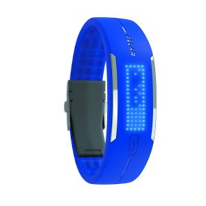 Health & Fitness: Polar Loop Men's Activity and Sleep Tracker Counts steps calories daily activities - Blue