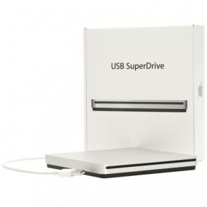 Official Genuine Apple USB Superdrive Compact External DVD Drive - MD564ZM/A