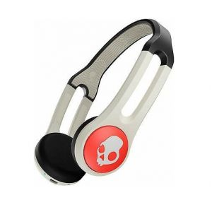 Skullcandy Icon Wireless Bluetooth Rechargeable On-Ear Mic Headphone - Stone