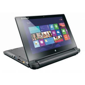 Laptops: Lenovo Flex 10 Laptop 10.1 inch Touchscreen Intel Celeron 4GB 500GB Windows 10 Notebook