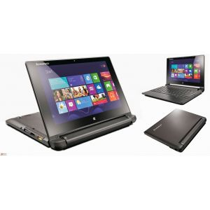 Laptops: Lenovo Flex 10 Laptop 10.1 inch Touchscreen Intel Celeron 4GB 500GB Windows 10 Notebook