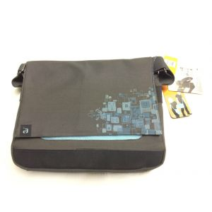 Avec 15.4 inch Messenger Laptop Netbook Padded Bag Business Travel Case Blue NEW