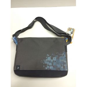 Laptop Accessories: Avec 15.4 inch Messenger Laptop Netbook Padded Bag Business Travel Case Blue NEW