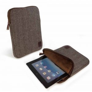 Tuff-Luv Herringbone Tweed sleeve case cover 10 inch For iPad Samsung Galaxy Nexus