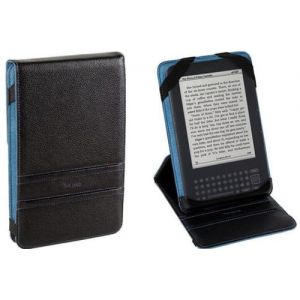 Targus THZ031EU Truss Top Grain Leather Case Stand for Kindle 3 (Black...