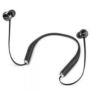 Headphones: SOL REPUBLIC Shadow Wireless Bluetooth Neckband Headphone Earphone Mic 8 Hr Battery - Black