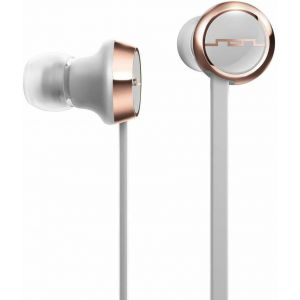 Headphones: SOL REPUBLIC Shadow Wireless Bluetooth Neckband Headphone Earphone Mic 8 Hr Battery - Grey