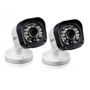 2X Swann Pro T835 HD 720p Bullet Security CCTV Camera LED Night Vision 65ft 20m