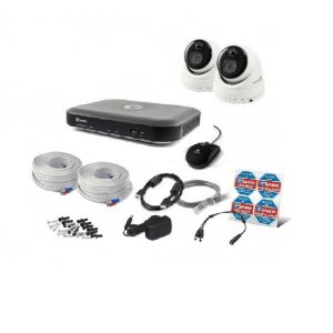 Swann 8 4780 DVR 8 Channel 2TB HDD 2 x PRO-3MPMSD Dome Camera CCTV Kit