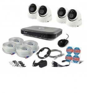 Swann SWDVK 4780 DVR 8 Channel 2TB HDD 3MP CCTV PRO- 3MPMSD x4 Camera Kit