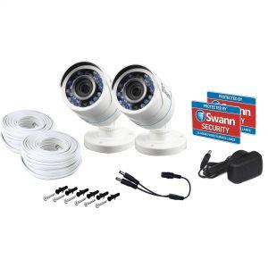 CCTV Systems: Swann 4575 4 Channel DVR 2TB Recorder 2 x T852 2 x T854 1080P HD 4 Camera CCTV Kit