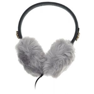 Sound & Vision: KitSound Faux Fur Jewel Kids On-Ear Earmuffs Built In Headphones iPod iPhone MP3