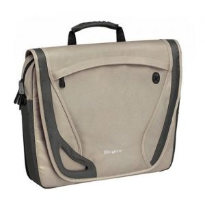 Laptop Accessories: Targus TBM00201 15.4 inch Laptop Free Spirit Messenger Bag Business Traveller Beige