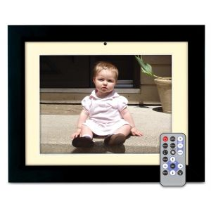 Digital: Polaroid 10.4 inch Digital Photo Frame Black Cream XSU-01040B Colour 512MB SD