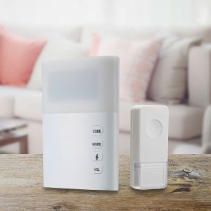 Electrical: Swann Wireless Door Bell with Large LED Light Hard Of Hearing