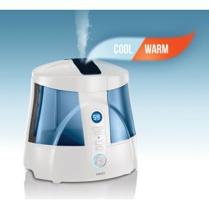Homedics HUM-20A Cool And Warm Mist Ultrasonic UV-C Humidifier Night Light 6L Tank