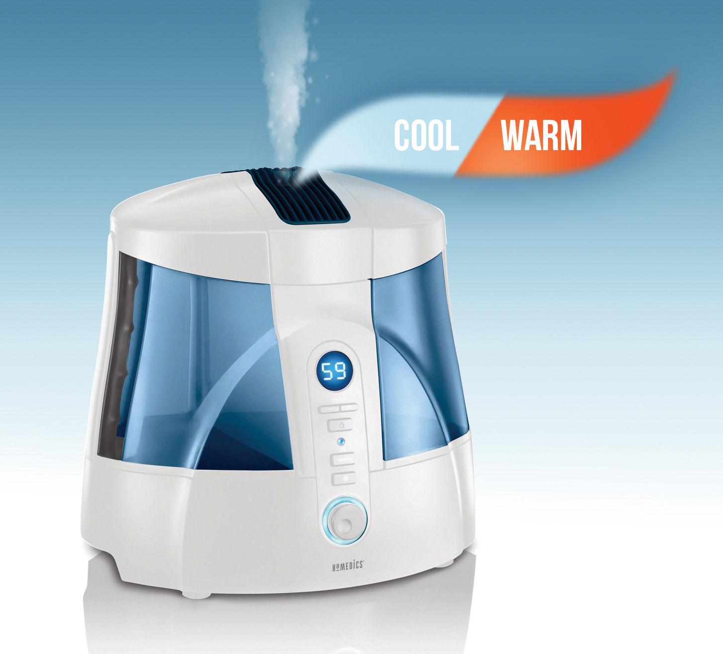 Homedics Cool U0026 Warm Mist Ultrasonic Humidifier Hum Manual Guide