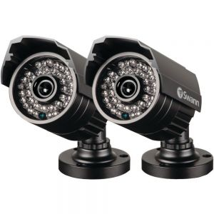CCTV Cameras: Swann PRO-735 X2 Day Night Vision 700 TVL Waterproof LED Security Camera CCTV