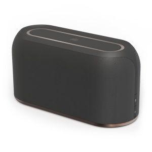 Speakers: Ministry of Sound Audio L Plus Wireless Bluetooth Speaker- Charcoal