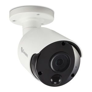 CCTV Cameras: Swann NHD-885MSB 4K Ultra HD Bullet Outdoor Security Camera IR Heat Motion Night