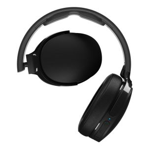 Headphones: SKULLCANDY HESH 3 Bluetooth Wireless Over-Ear Headphones Mic Foldable 22 Hr Battery - Black