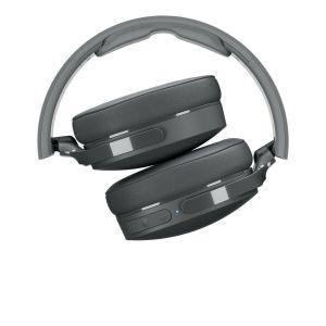 Headphones: SKULLCANDY HESH 3 Bluetooth Wireless Over-Ear Headphones Mic Foldable 22 Hr Battery - White/Crimson