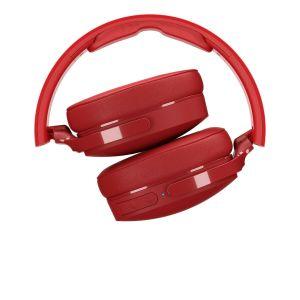 Headphones: SKULLCANDY HESH 3 Bluetooth Wireless Over-Ear Headphones Mic Foldable 22 Hr Battery - Red