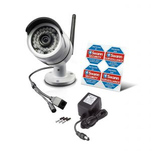 Swann NVW-470 720p Wireless Wi-Fi HD CCTV Security IP Network Camera NVA-460
