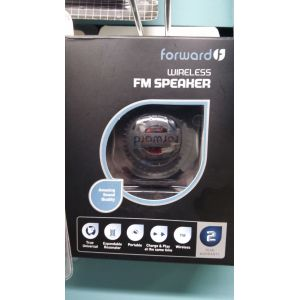 Speakers: Forward Wireless FM Speakers Portable Mobile MP3 Universal Speaker Rechargeable