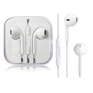 Headphones: Official Genuine Apple EarPods with 3.5mm Headphone Jack Plug MNHF2ZM/A - White
