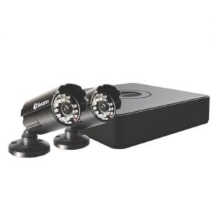 CCTV Systems: Swann DVR4-1525 4 Channel 500GB 2x 650 TV Lines PRO 615 Cameras CCTV Kit HDMI