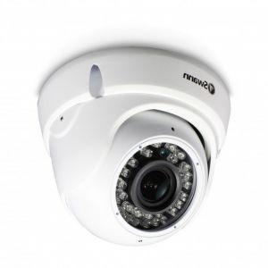 CCTV Cameras: Swann 2.1MP 1080p AHD TVI CVI Universally Compatible CCTV Dome Camera Zoom Audio