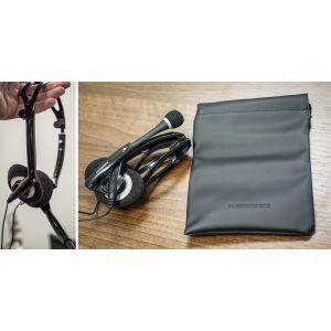 Headphones: Plantronics Audio 400 DSP 76921-15 Foldable Stereo Headset USB enhanced Digital