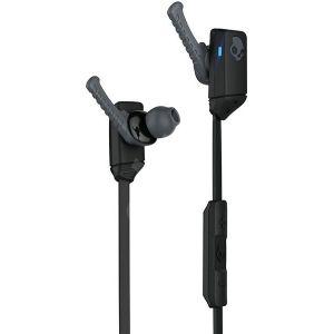 Headphones: SKULLCANDY XTFREE Wireless Rechargeable Bluetooth Earphones Lock fit - Black