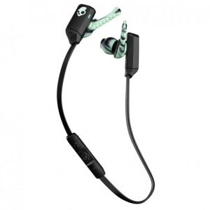 SKULLCANDY XTFREE Wireless Rechargeable Bluetooth Earphones Lock fit - Black/Mint/Swirl