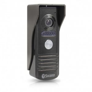 CCTV Cameras: Swann DP875C Doorphone Intercom Colour LCD Monitor Camera Security Video System
