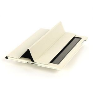 Tucano Cornice Eco Leather Smart Case Stand Magnetic Closure iPad 2 3 4 Whi...