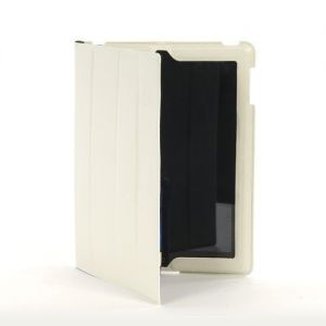 iPad Cases: Tucano Cornice Eco Leather Smart Case Stand Magnetic Closure iPad 2 3 4 White