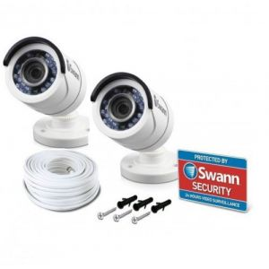 Swann PRO-T853 HD1080P CCTV Security Camera 100ft 30m Day Night Vision 2 Pack