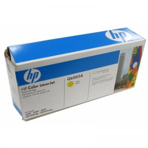 Original Genuine HP 2600 Yellow Toner Cartridge - Q6002A 9421A002