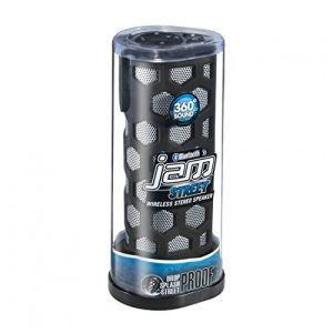 HMDX JAM HX-P710BK Street Bluetooth Wireless Speaker Splash
