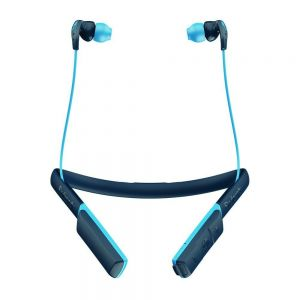 SKULLCANDY METHOD Wireless Bluetooth In-Ear Sport Headphones Earbud Mic 9 Hr Battery - Blue