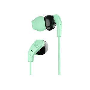Headphones: SKULLCANDY METHOD Wireless Bluetooth In-Ear Sport Headphones Earbud Mic 9 Hr Battery - Mint
